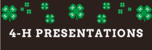 Cover photo for NC 4-H Presentations