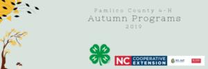 Cover photo for 4-H Autumn Fun Programs 2019