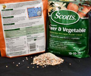 bag of fertilizer