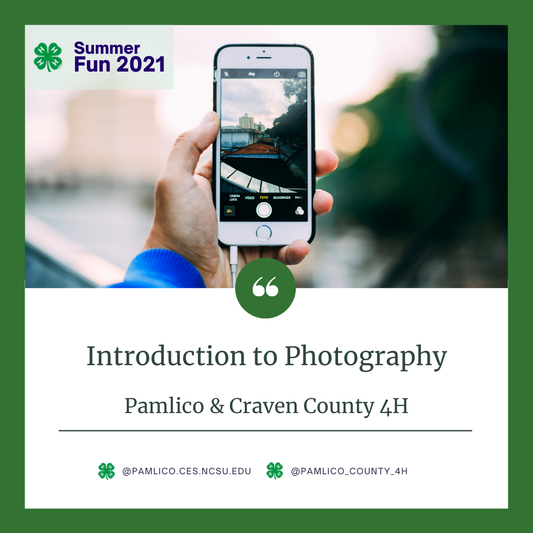 Intro to Photography flyer image