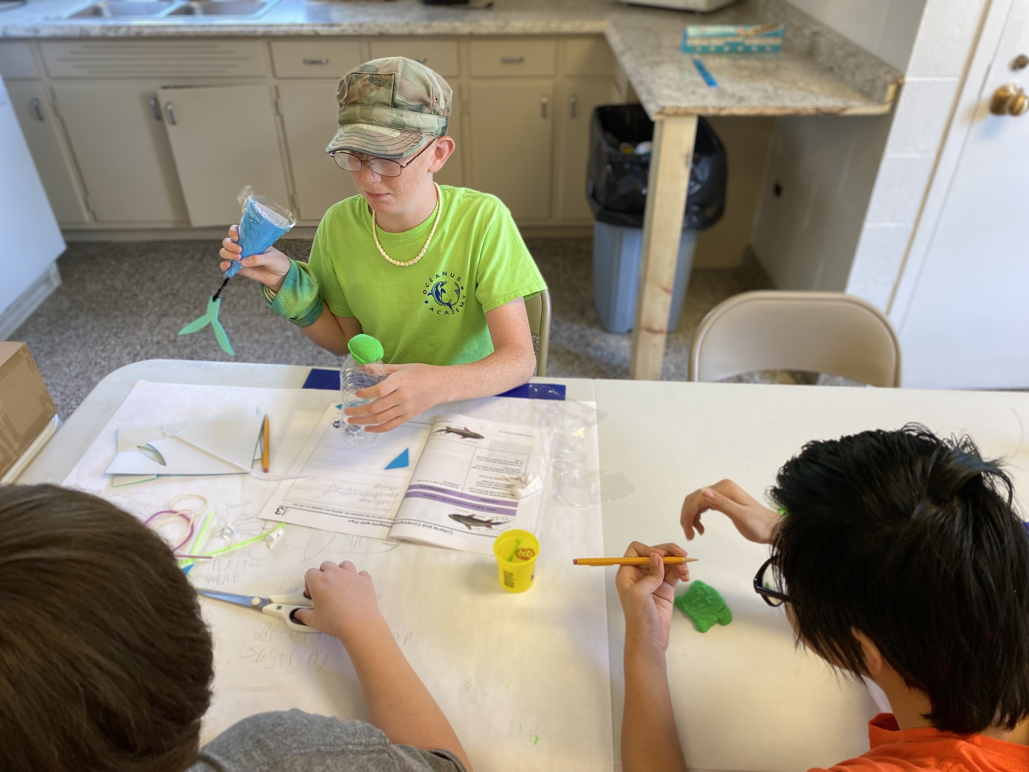 creating a prosthetic fish tail