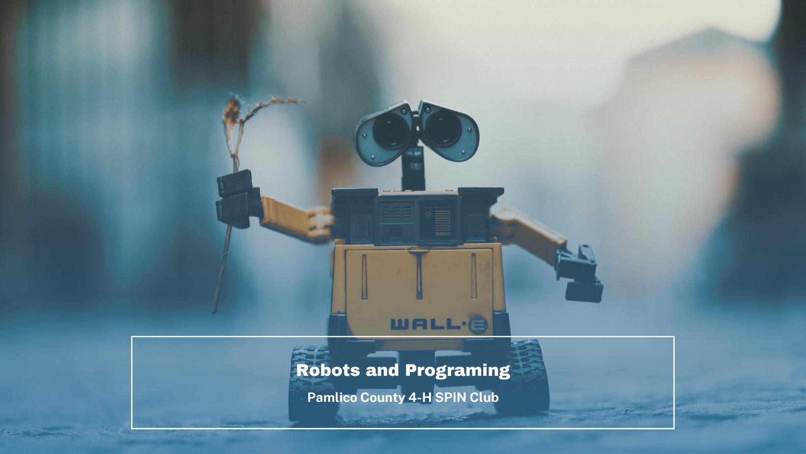Robots and Programing